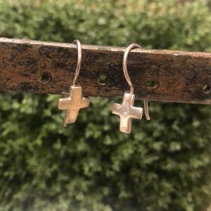 Silpada Cross Earrings